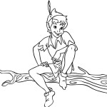 Peter Pan Disney Coloring Sheets