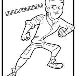 Shout From Fresh Beat Band Of Spies Coloring Pages