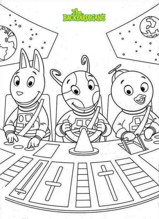 The Backyardigans Coloring Sheets To Print