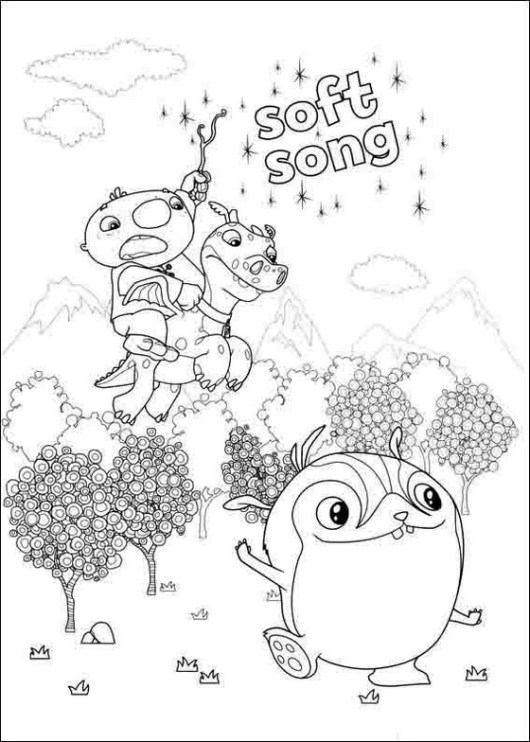 wallykazam coloring and activity page