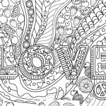 Love Coloring Book Printable