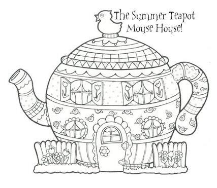 Fancy Teapot Template Printable Ensign - Resume Ideas - dospilas.info