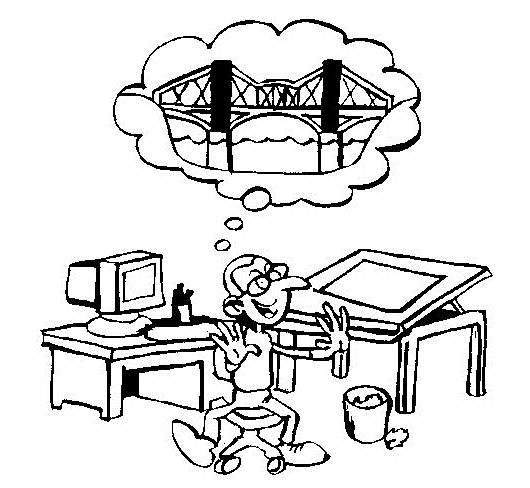 architect profession coloring book for kids