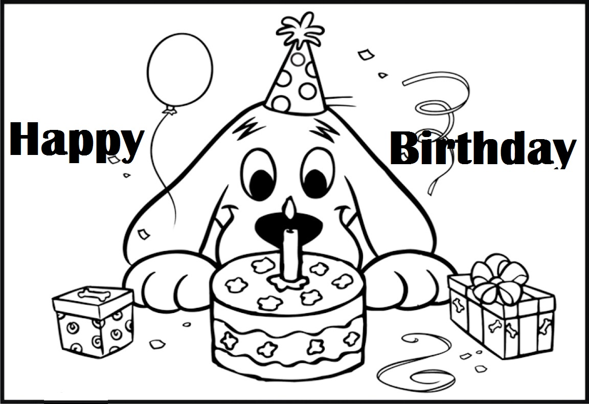 11 Clifford Coloring Page Online Coloring Pages
