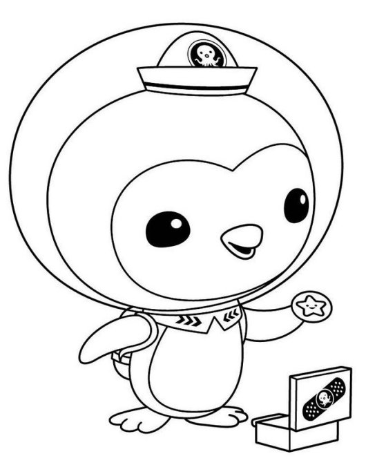 Octonauts colouring pictures coloring pages for Octonauts color pages