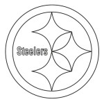 pittsburgh steelers from nfl teams coloring logo pages