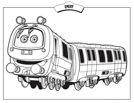 Top 9 Chuggington Coloring Pages - Coloring Pages
