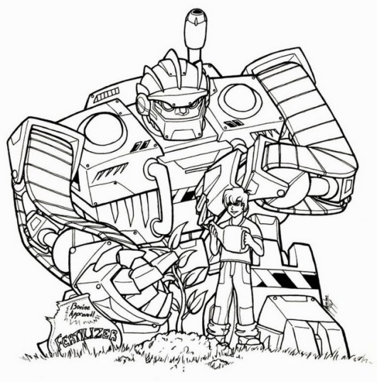 Color Stunning Rescue Bots Page Designs Using Your Favorite Rescue Bot Coloring Pages