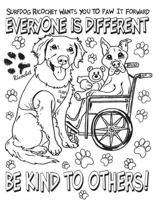 stop bullying coloring sheets with lettering everyone is different be kind to the others