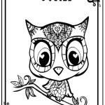 Best Owl Littlest petshop coloring sheet online
