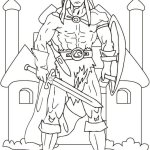 Best Viking Coloring Sheets
