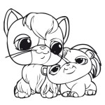 perfect littlest pet shop coloring sheet online