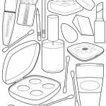 best makeup kit coloring sheet