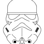 epic stormtrooper helmet coloring picture