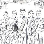 perfect thunderbirds are go coloring page