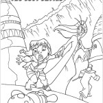 Perfect Atlantis the lost empire Coloring Page