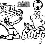 World Cup Soccer Coloring Sheet