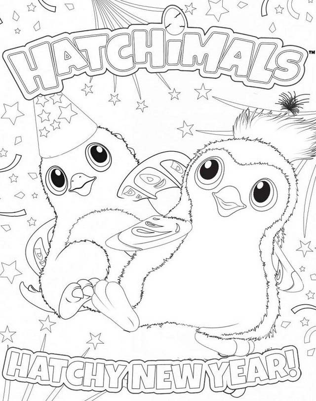 Printable Coloring Pages Hatchimals Super Kins Author