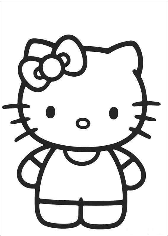 hello kitty coloring pages that you can print # 20