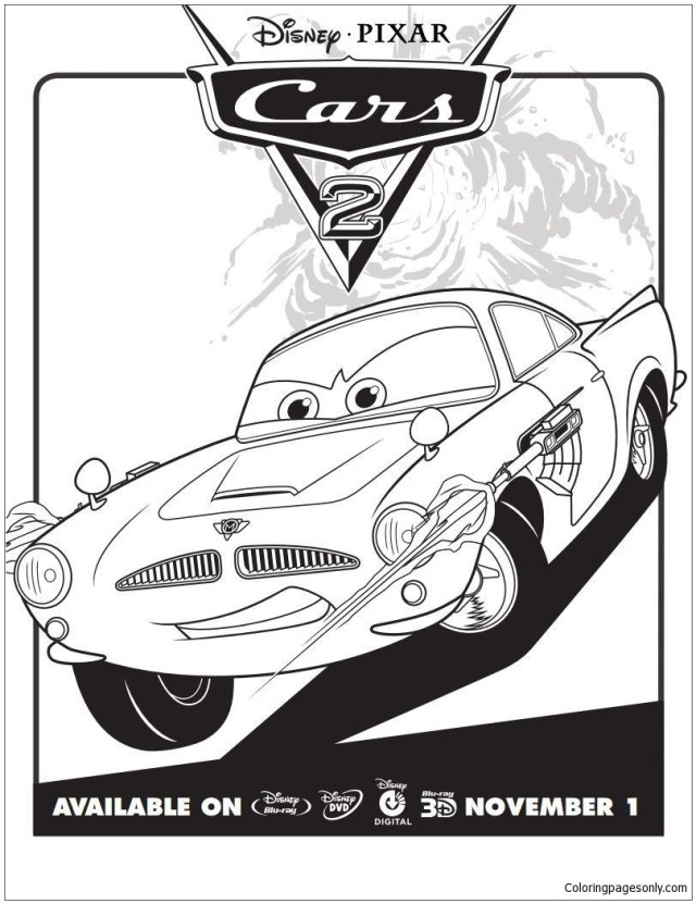 Disney Cars 27 27 Coloring Pages - Cartoons Coloring Pages
