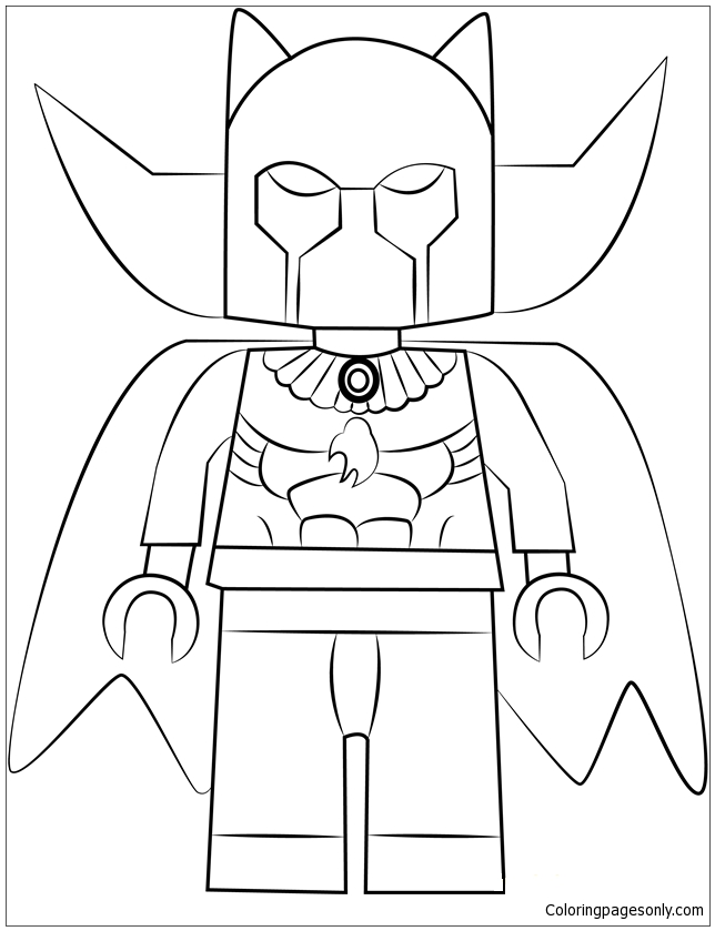 Lego Black Panther Coloring Page Free Coloring Pages Online