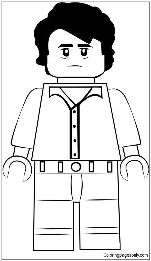19 Lego Ant Thony Coloring Pages