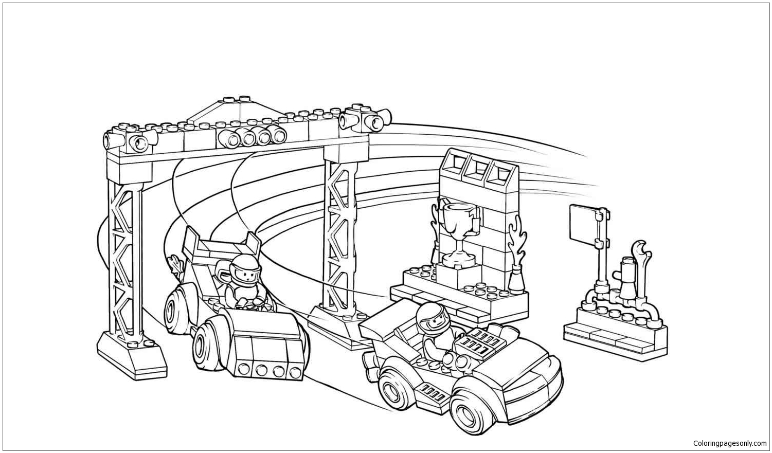 Lego City 2 Coloring Page