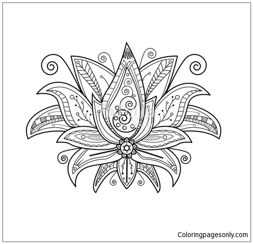 Mandala 8 Coloring Page Free Coloring Pages Online