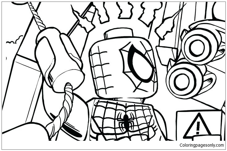 Superhero Rhino And Sandman Super Villain Coloring Page Free Coloring Pages Online