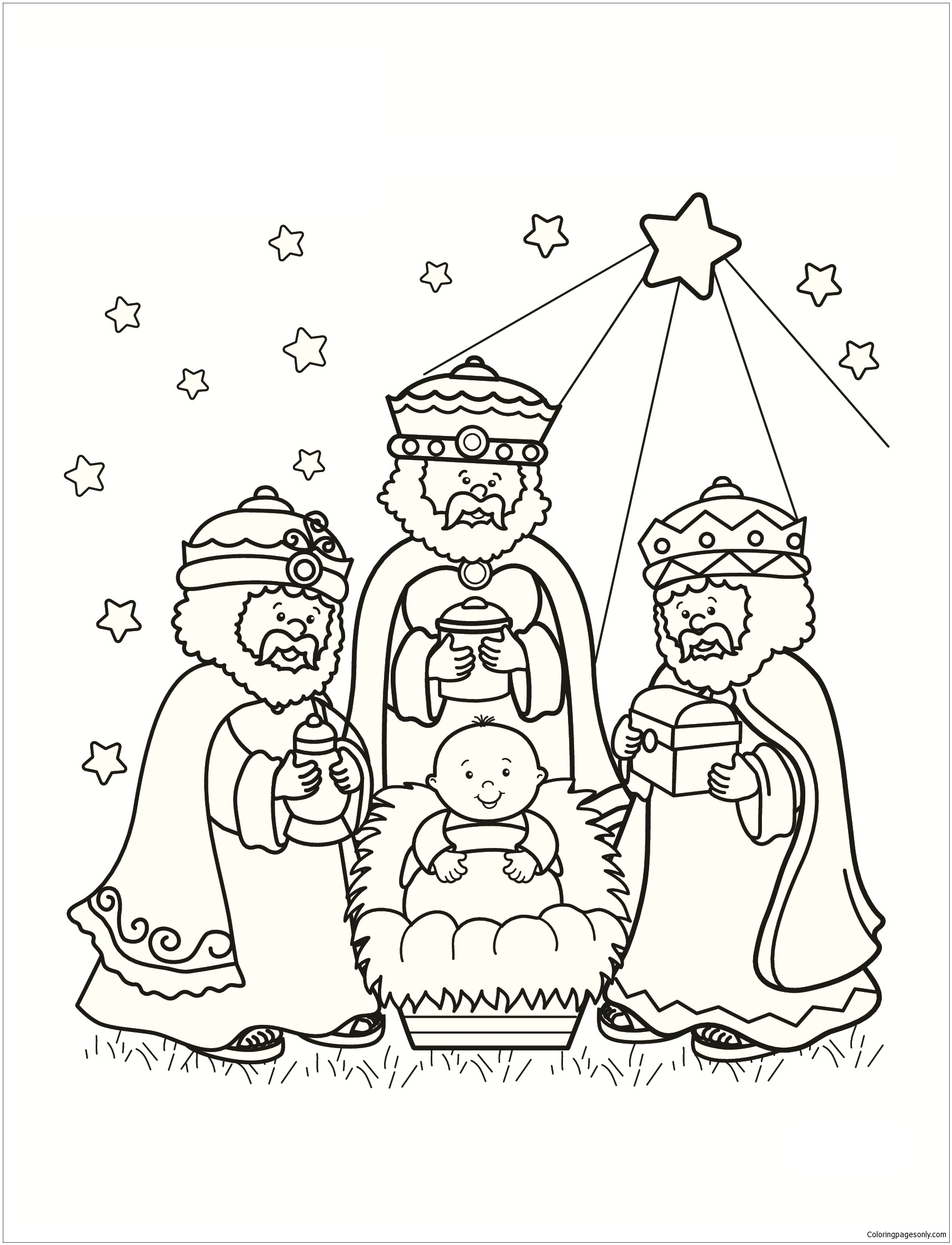 Three Wise Men Worksheet