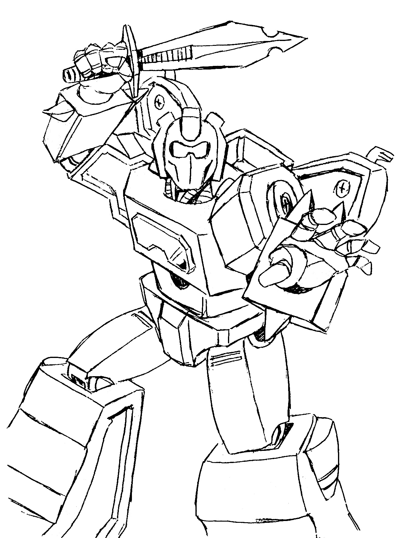 Transformers Starscream Coloring Page Free Coloring Pages Online
