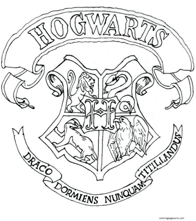 Harry Potter Coloring Pages - Coloring Pages For Kids And Adults