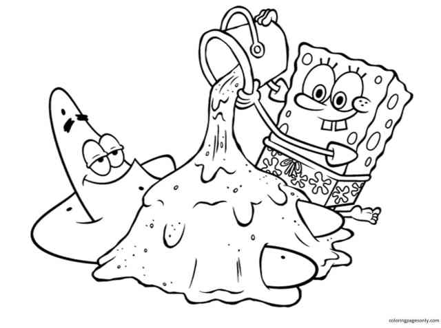 Spongebob Coloring Pages - Coloring Pages For Kids And Adults
