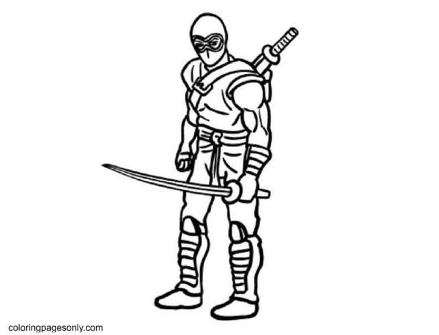 Ninja Coloring Pages - Coloring Pages For Kids And Adults