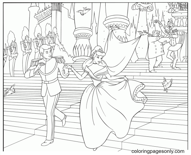 Princess Coloring Pages - Coloring Pages For Kids And Adults