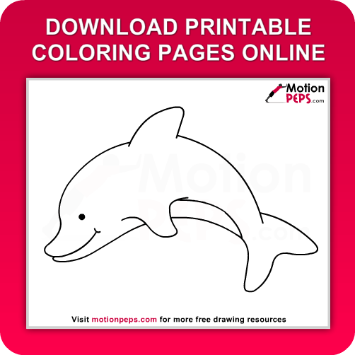 download free printable dolphin fly coloring pages for kids online