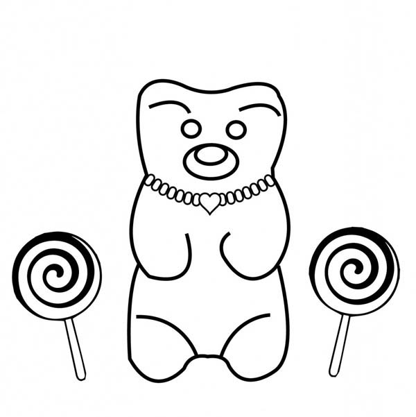 teddy bear wearing jewelry coloring page  coloring sky