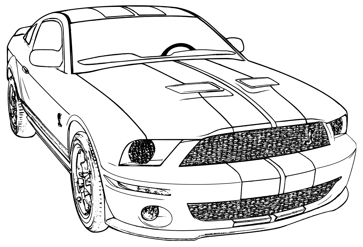 ford coloring pages to download and print for free