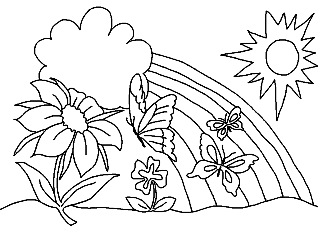 spring coloring pages aaldtk