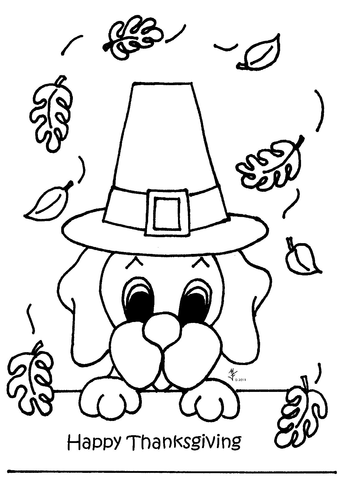 November Coloring Pages To Download And Print For Free