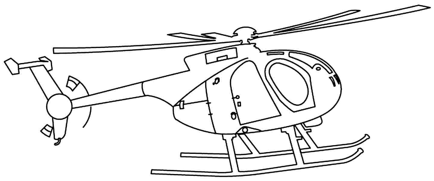 helicopter coloring pages to download and print for free