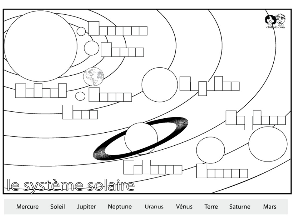 Solar System Coloring Pages To Download And Print For Free