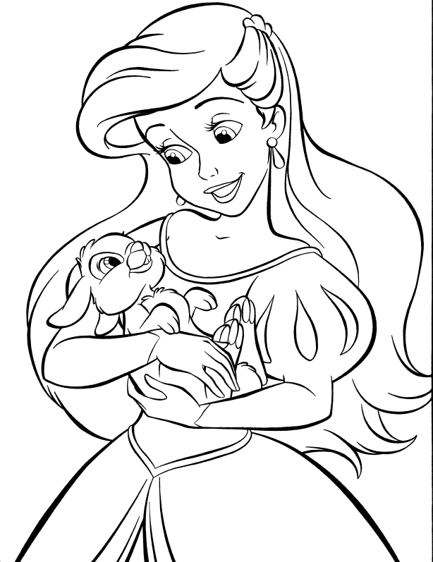 Ariel coloring pages to download and print for free | free printable coloring pages disney ariel