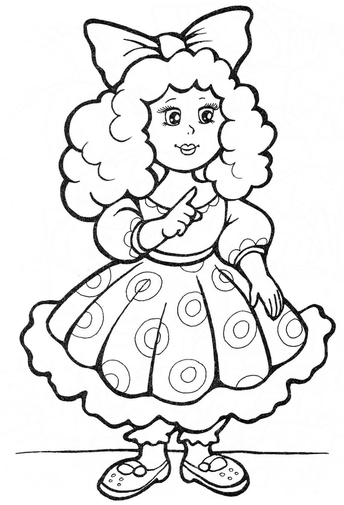 Coloring pages for children of 4-5 years to download and ... | coloring worksheets for kinder
