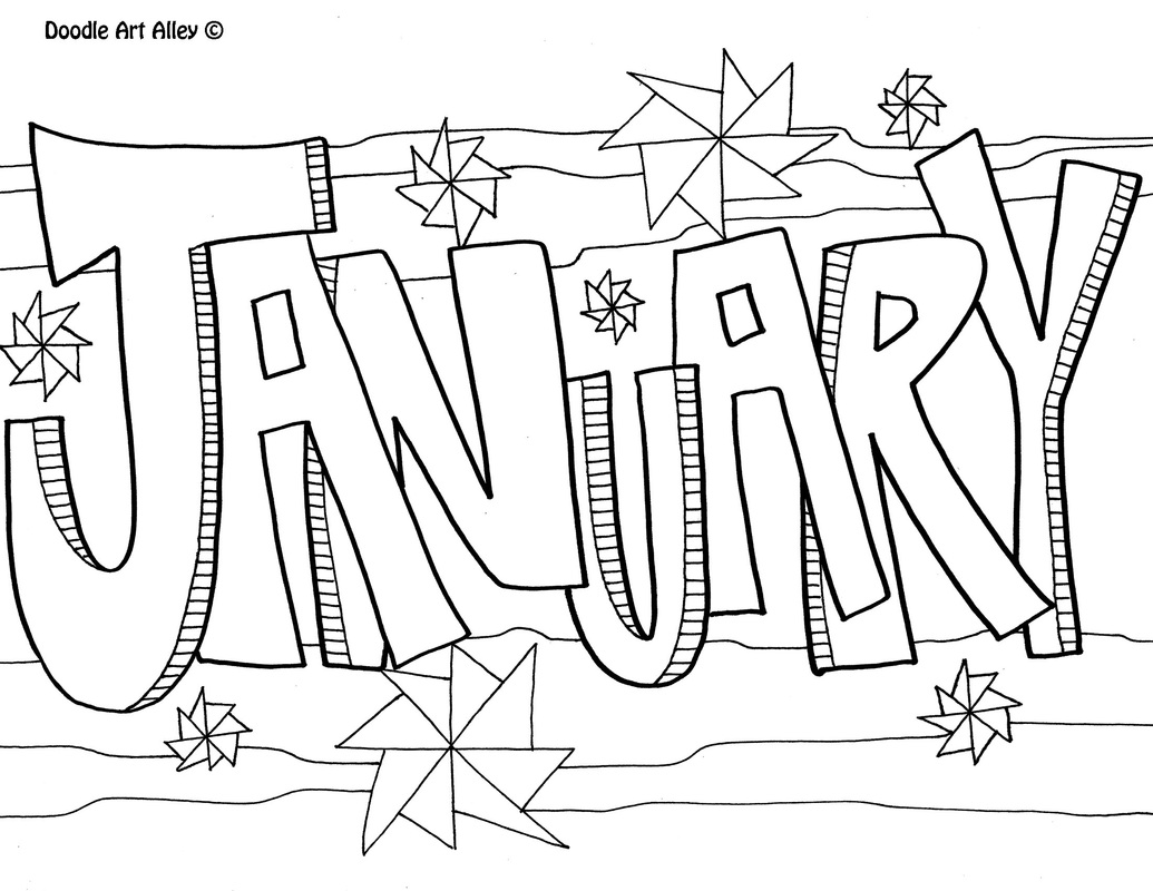 January Worksheet Printables