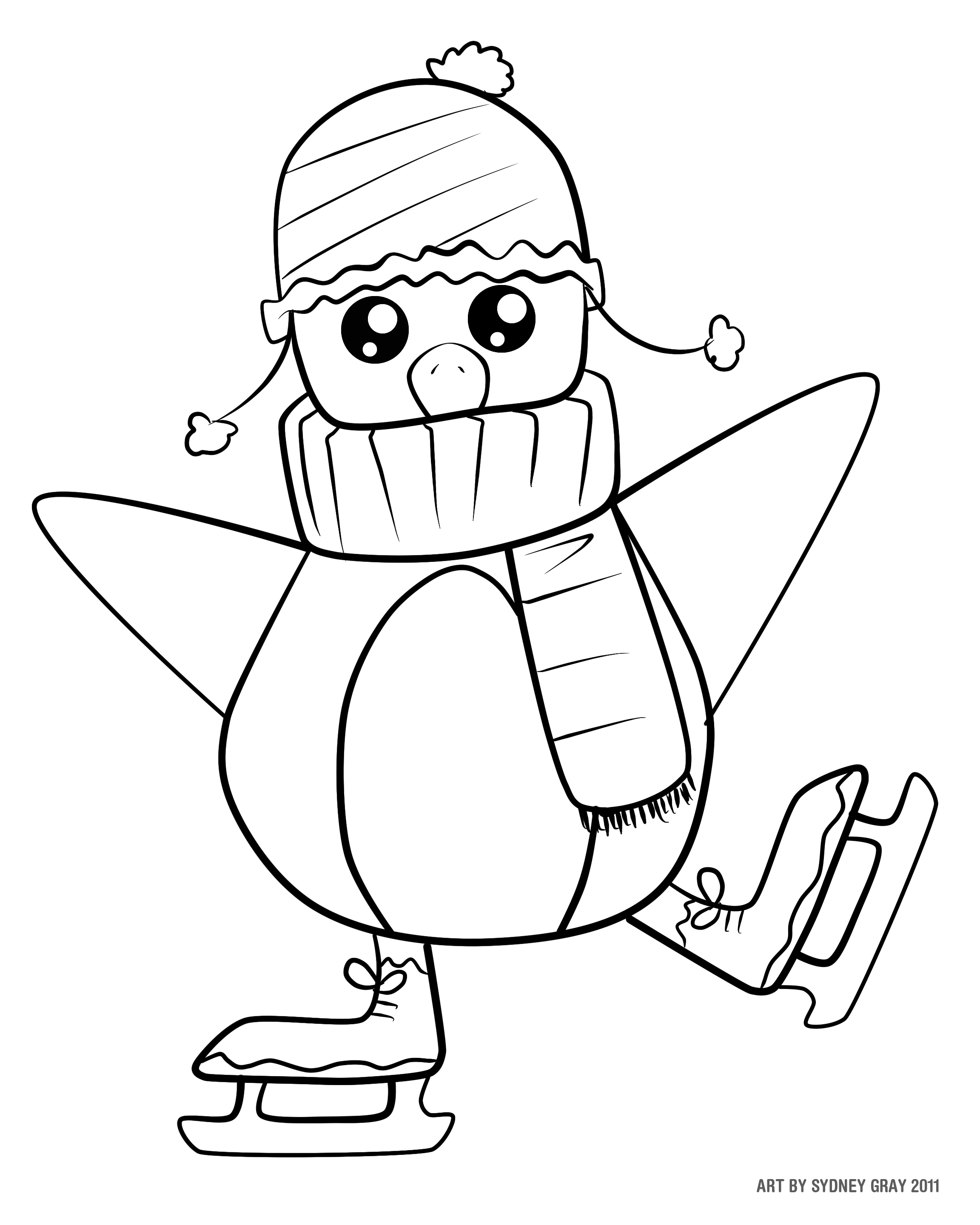 December Coloring Pages To Download And Print For Free