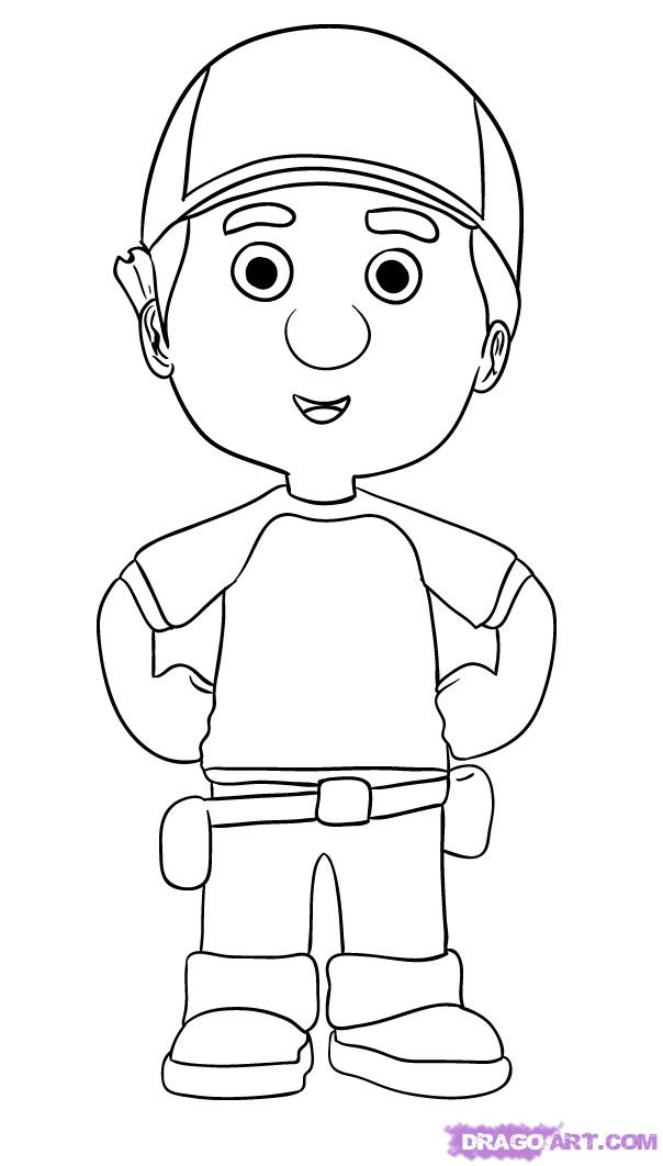 coloring pages handy manny coloring pages handy manny ...