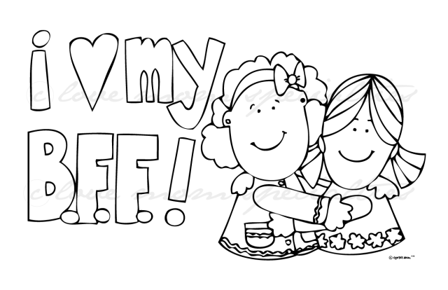 18 best ideas for coloring  Free Coloring Pages Of Friendship