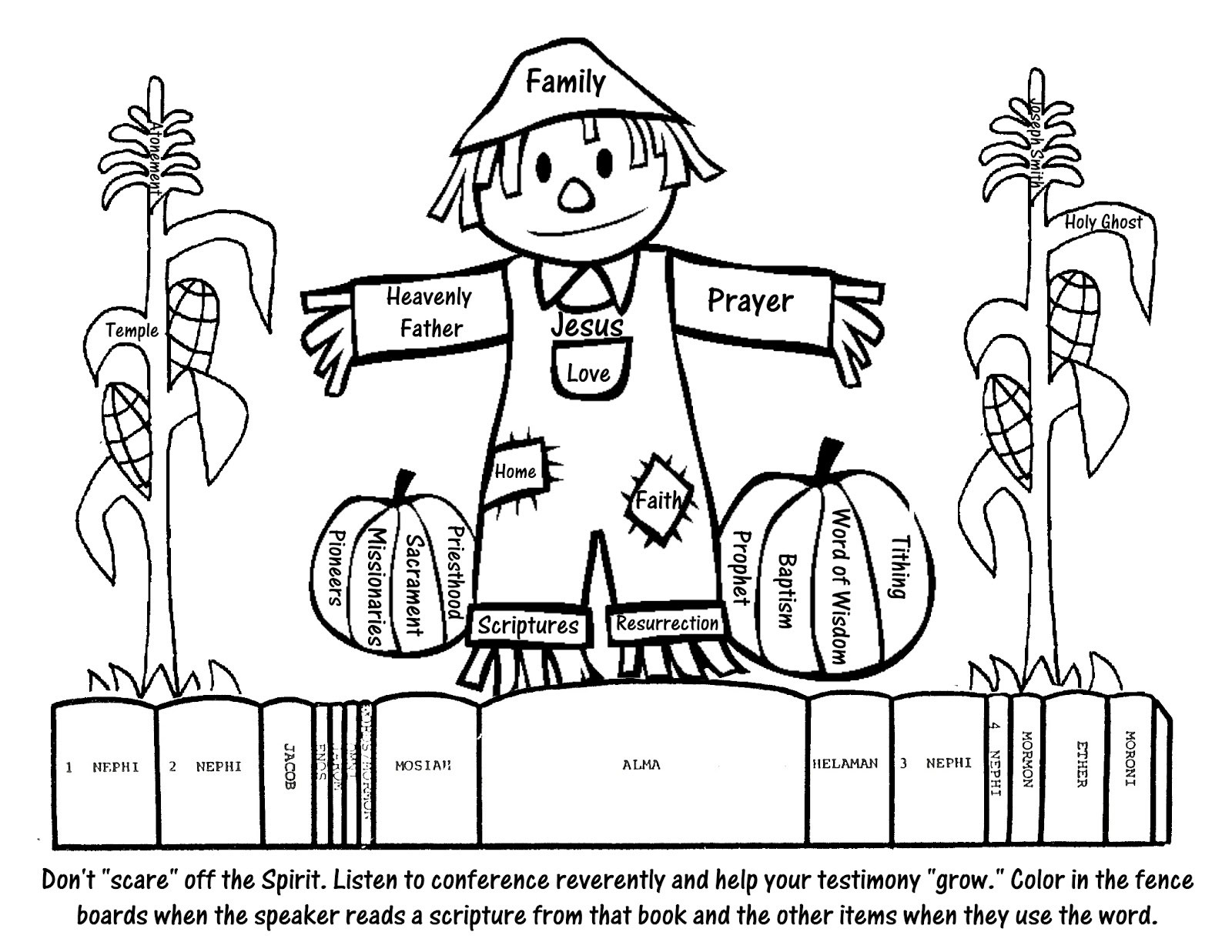 September Coloring Pages To Download And Print For Free