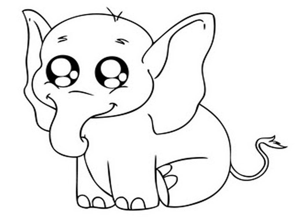 coloring pages elephant kkuy